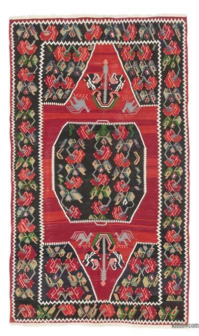 Vintage Karabakh Kilim Rug