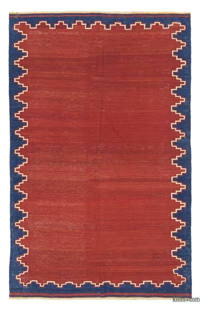 "Antique Balikesir Kilim Rug - 4' 9"" x 7' 5"" (57 in. x 89 in.)"