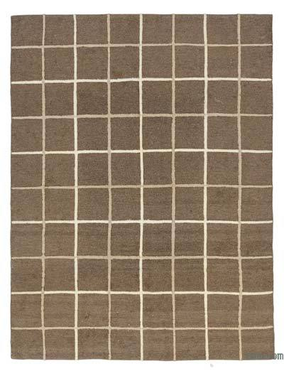 "New Handwoven Turkish Kilim Rug - 5' 6"" x 7' 5"" (66 in. x 89 in.)"