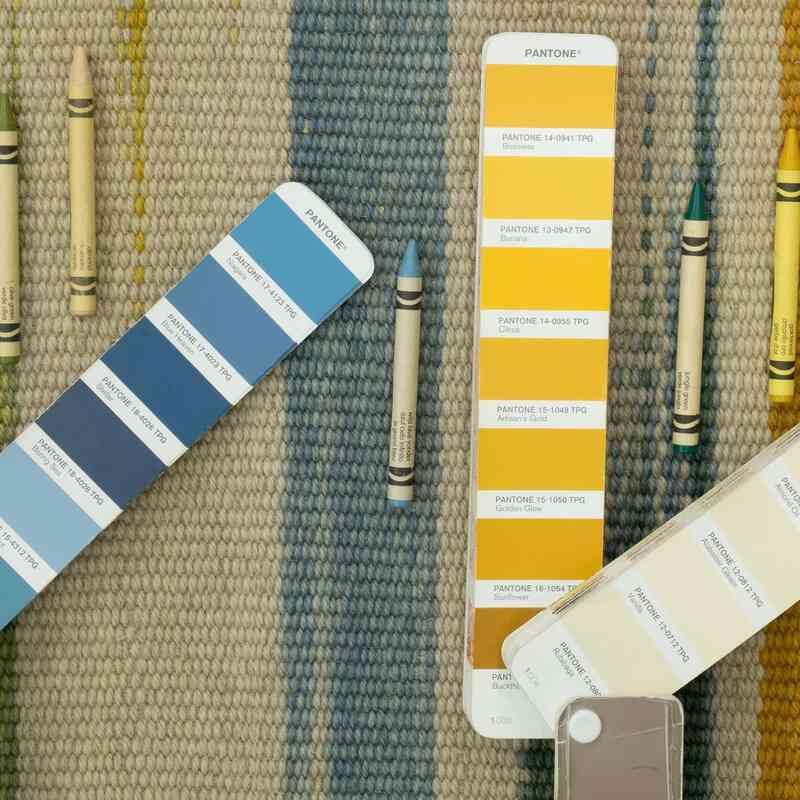 "Multicolor Vintage Turkish Kilim Rug - 10' 2"" x 13' 5"" (122 in. x 161 in.) - K0037902"