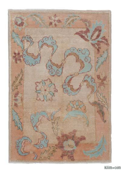 """New Hand Knotted Anatolian Rug - 2' 11"""" x 4' 3"""" (35 in. x 51 in.)"""