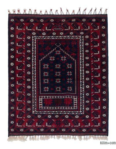 """New Hand Knotted Anatolian Rug - 3'4"""" x 3'10"""" (40 in. x 46 in.)"""