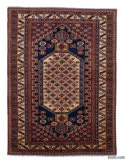 """New Hand Knotted Anatolian Rug - 4' 1"""" x 5' 5"""" (49 in. x 65 in.)"""