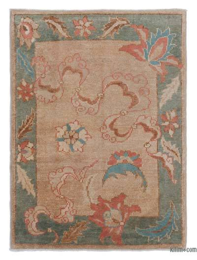"""New Hand Knotted Anatolian Rug - 2' 11"""" x 3' 11"""" (35 in. x 47 in.)"""