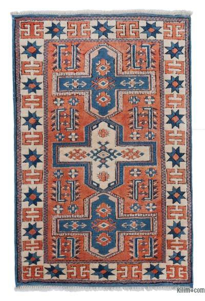 "New Hand Knotted Anatolian Rug - 2'7"" x 3'10"" (31 in. x 46 in.)"