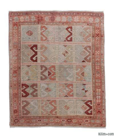 """New Hand Knotted Anatolian Rug - 3'2"""" x 3'10"""" (38 in. x 46 in.)"""