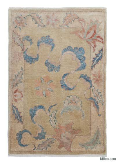 "New Hand Knotted Anatolian Rug - 2' 7"" x 3' 10"" (31 in. x 46 in.)"