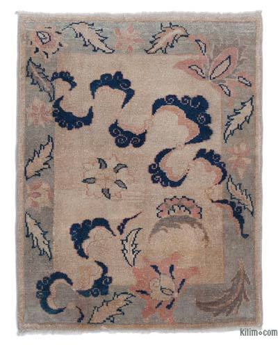 """New Hand Knotted Anatolian Rug - 3'  x 3' 10"""" (36 in. x 46 in.)"""