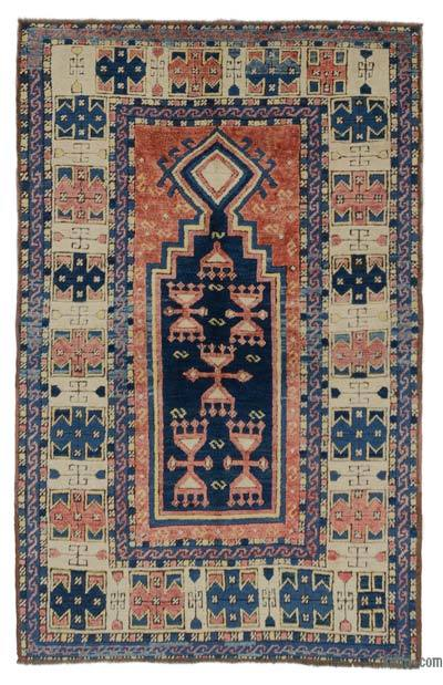 "New Hand Knotted Anatolian Rug - 3'5"" x 5'3"" (41 in. x 63 in.)"