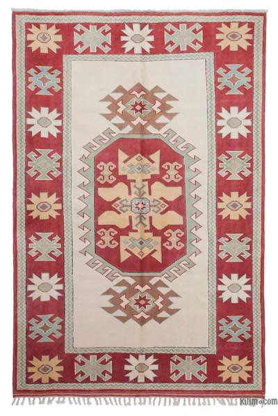 "New Hand Knotted Anatolian Rug - 5'6"" x 8'2"" (66 in. x 98 in.)"