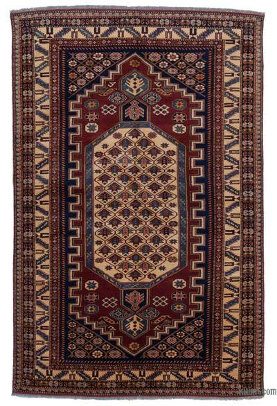 """New Hand Knotted Anatolian Rug - 4' 1"""" x 6' 4"""" (49 in. x 76 in.)"""