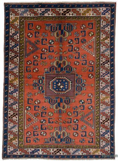 """New Hand Knotted Anatolian Rug - 6'6"""" x 9' (78 in. x 108 in.)"""