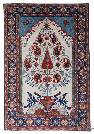"""New Hand Knotted Anatolian Rug - 5' 4"""" x 8'  (64 in. x 96 in.)"""