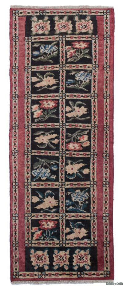 "New Hand Knotted Anatolian Runner Rug - 2' 1"" x 5' 6"" (25 in. x 66 in.)"