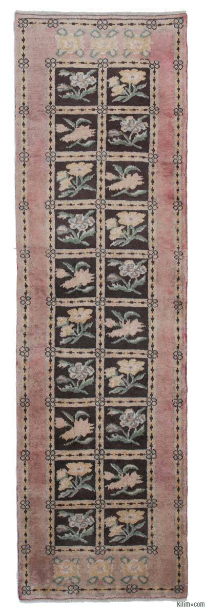 "New Hand Knotted Anatolian Runner Rug - 2' 3"" x 7' 9"" (27 in. x 93 in.)"