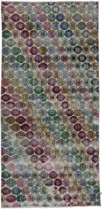"Retro Vintage Area Rug - 3' 8"" x 7' 8"" (44 in. x 92 in.)"