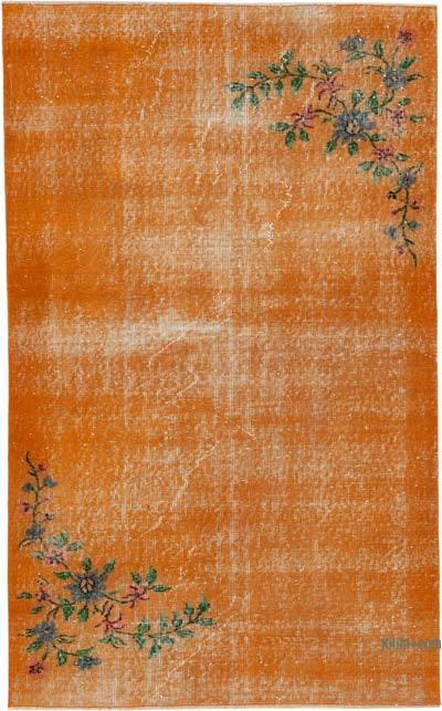 El Dokuma Vintage Halı - 113 cm x 184 cm