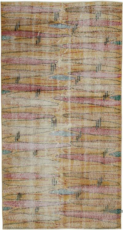 "Retro Vintage Area Rug - 3' 7"" x 6' 8"" (43 in. x 80 in.)"