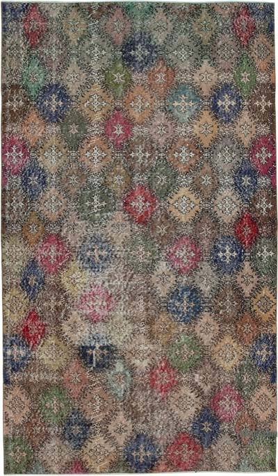 "Retro Vintage Area Rug - 4' 11"" x 8' 6"" (59 in. x 102 in.)"