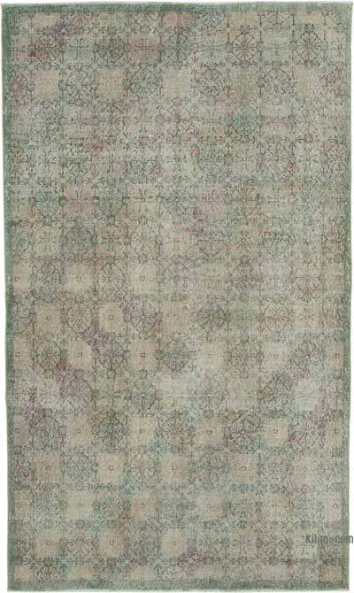 "Retro Vintage Area Rug - 5' 2"" x 8' 8"" (62 in. x 104 in.)"
