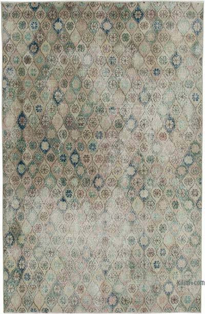 "Retro Vintage Area Rug - 5' 5"" x 8' 4"" (65 in. x 100 in.)"