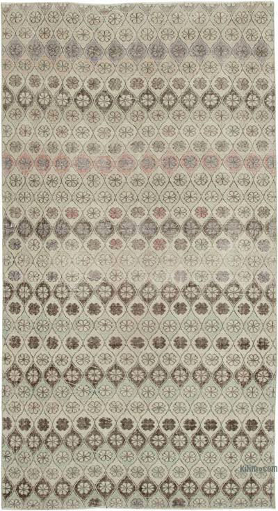 "Retro Vintage Area Rug - 5' 1"" x 9' 5"" (61 in. x 113 in.)"