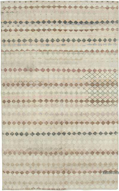"""Vintage Turkish Hand-Knotted Rug - 5' 8"""" x 9'  (68 in. x 108 in.)"""