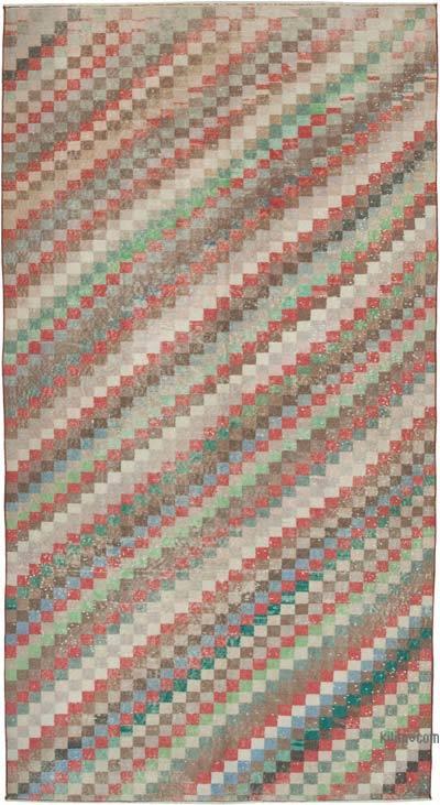 El Dokuma Vintage Halı - 152 cm x 288 cm