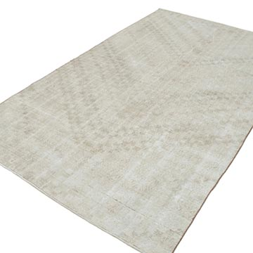 """Vintage Turkish Hand-Knotted Rug - 5' 4"""" x 9' 1"""" (64 in. x 109 in.) - K0038024"""
