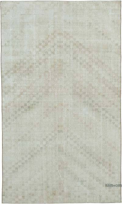"""Vintage Turkish Hand-Knotted Rug - 5' 4"""" x 9' 1"""" (64 in. x 109 in.)"""