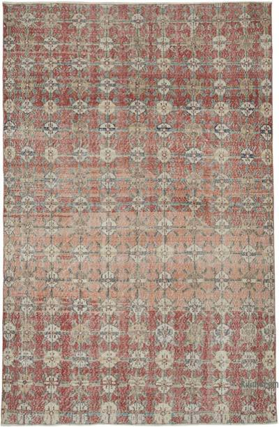"Retro Vintage Area Rug - 6' 1"" x 9' 5"" (73 in. x 113 in.)"