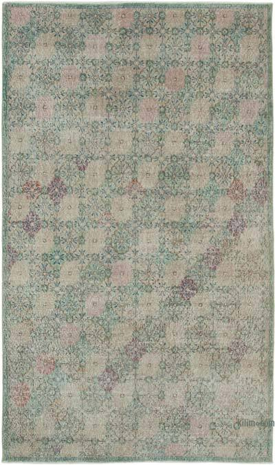 "Retro Vintage Area Rug - 5'  x 8' 6"" (60 in. x 102 in.)"