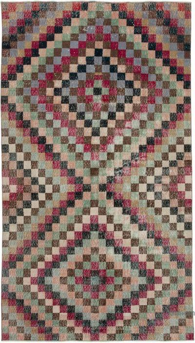 "Turkish Vintage Rug - 5' 2"" x 9' 2"" (62 in. x 110 in.)"