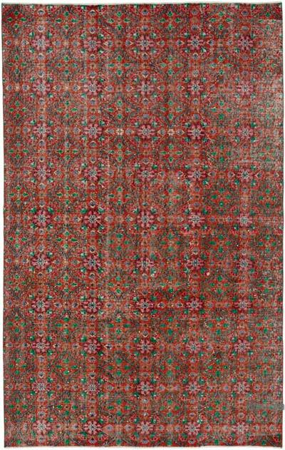 "Retro Vintage Area Rug - 5' 7"" x 8' 11"" (67 in. x 107 in.)"