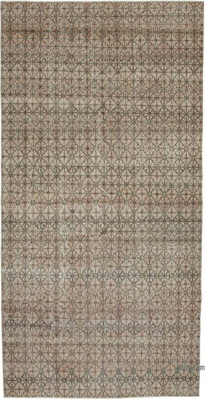 El Dokuma Vintage Halı - 189 cm x 372 cm