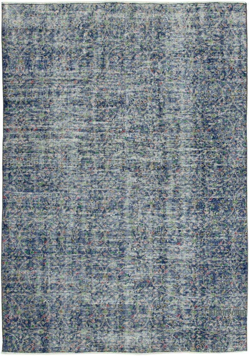 """Vintage Turkish Hand-Knotted Rug - 4' 11"""" x 7'  (59 in. x 84 in.) - K0038084"""