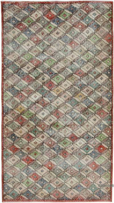 "Turkish Vintage Rug - 4' 4"" x 7' 10"" (52 in. x 94 in.)"