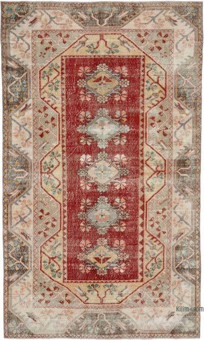 "Turkish Vintage Rug - 5'10"" x 9'9"" (70 in. x 117 in.)"