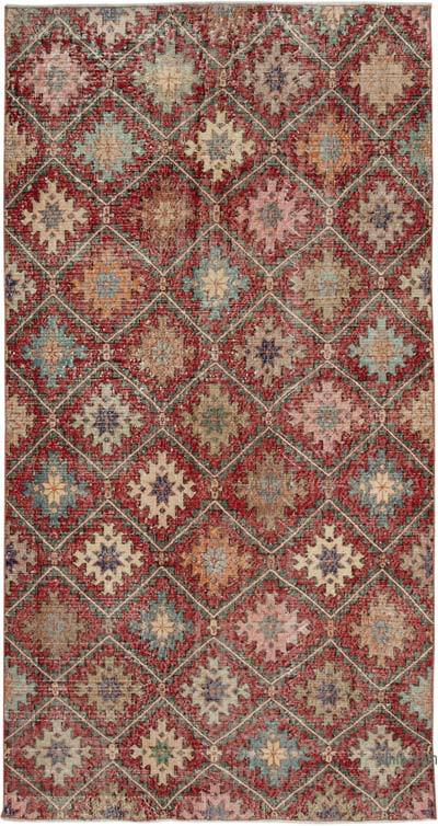 "Retro Vintage Area Rug - 5' 1"" x 9' 4"" (61 in. x 112 in.)"