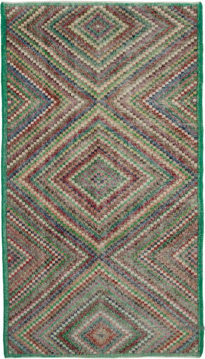 "Turkish Vintage Rug - 5' 6"" x 9' 8"" (66 in. x 116 in.)"