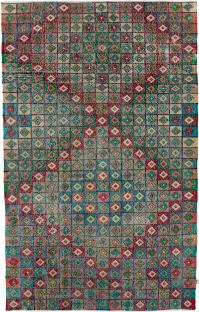 "Turkish Vintage Rug - 4' 11"" x 7' 9"" (59 in. x 93 in.)"