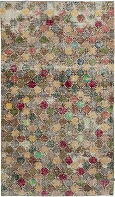 "Retro Vintage Area Rug - 5' 2"" x 8' 11"" (62 in. x 107 in.)"