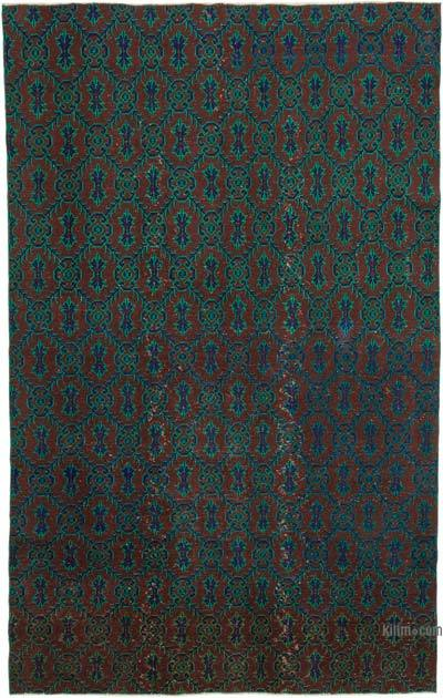 "Retro Vintage Area Rug - 6' 5"" x 10' 4"" (77 in. x 124 in.)"