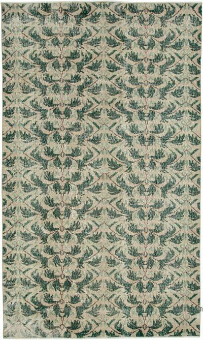 "Retro Vintage Area Rug - 5'  x 8' 7"" (60 in. x 103 in.)"