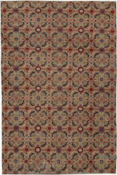 "Turkish Vintage Rug - 6'4"" x 9'5"" (76 in. x 113 in.)"