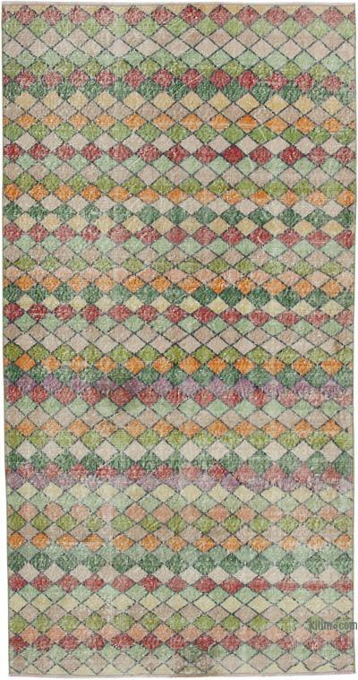 "Retro Vintage Area Rug - 4' 4"" x 8' 3"" (52 in. x 99 in.)"