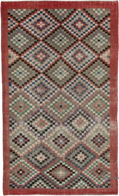 "Turkish Vintage Rug - 5' 9"" x 9' 4"" (69 in. x 112 in.)"