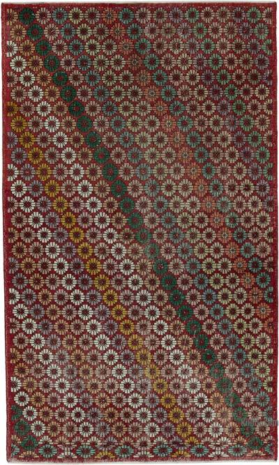 "Retro Vintage Area Rug - 5' 11"" x 9' 11"" (71 in. x 119 in.)"