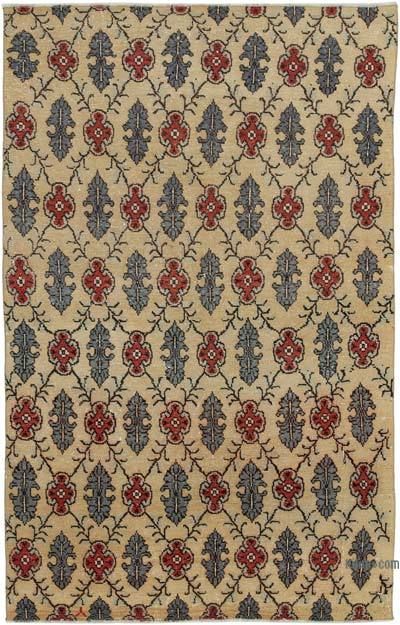"Turkish Vintage Rug - 4' 10"" x 7' 8"" (58 in. x 92 in.)"