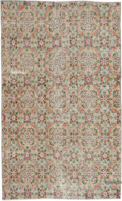 "Turkish Vintage Rug - 5' x 8'1"" (60 in. x 97 in.)"